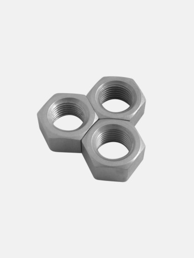 M10 Fine Thread Titanium Nuts